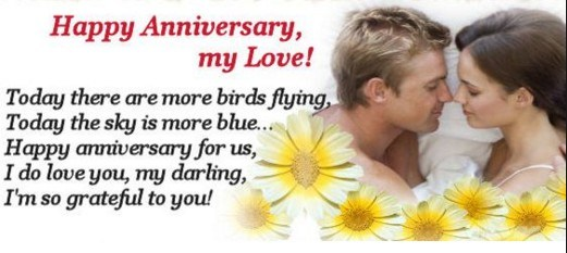 Wedding Anniversary Wishes For Facebook