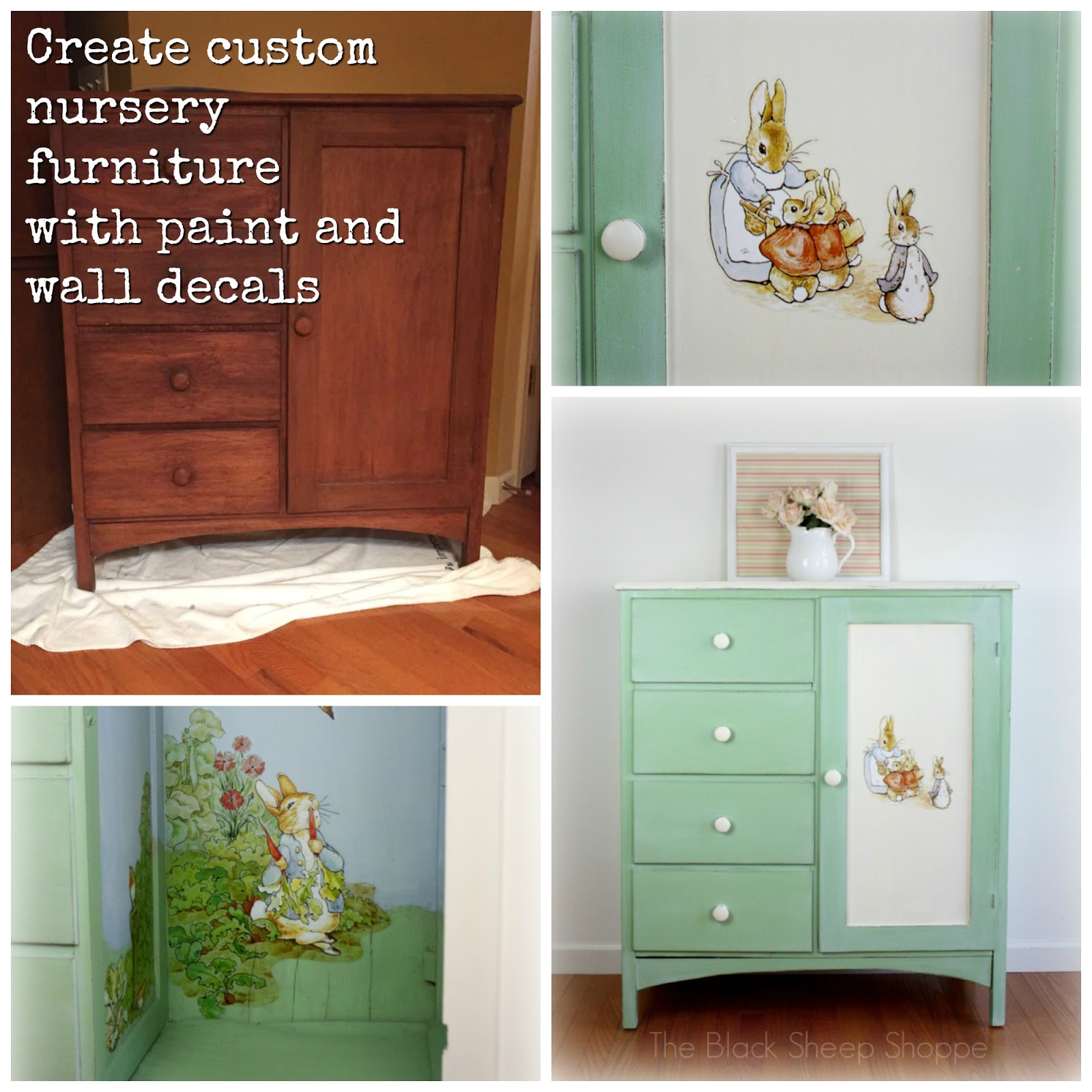Create custom nursery furniture