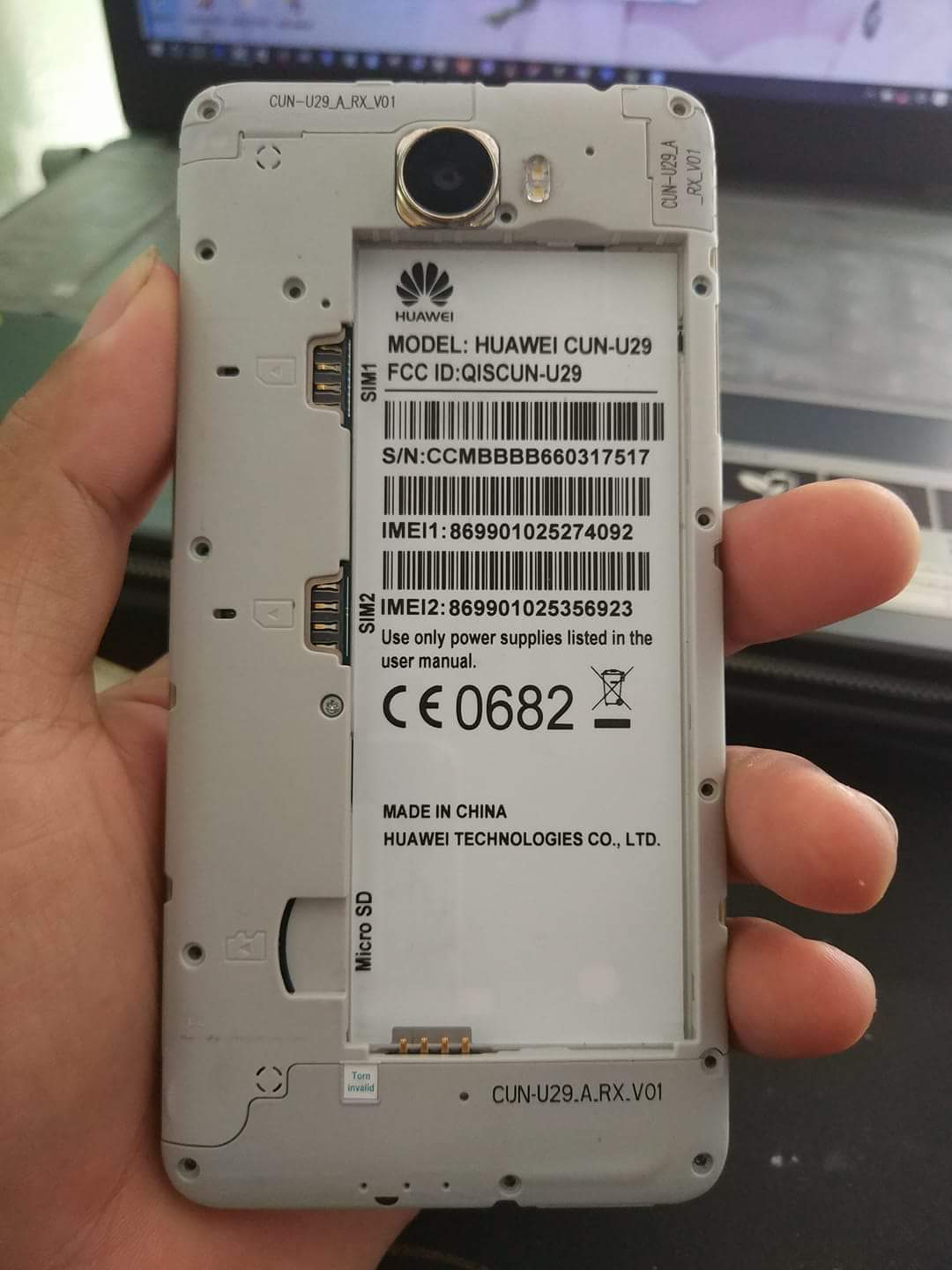 Image result for Huawei Y5ii CUN-U29 Dead Recovery