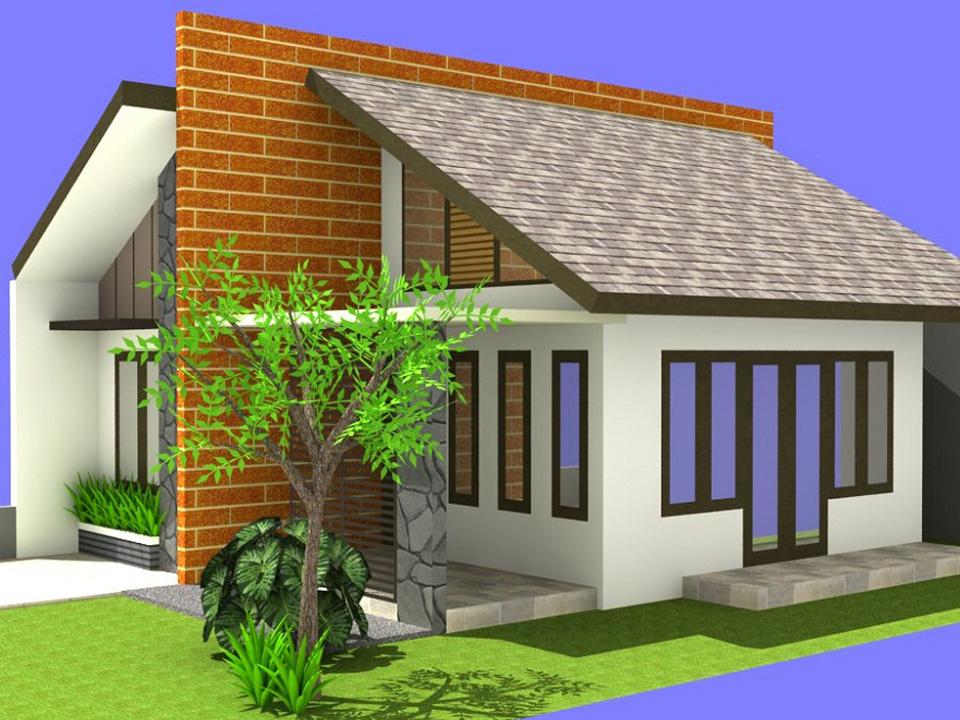 Tren Desain Rumah Minimalis Atap Miring