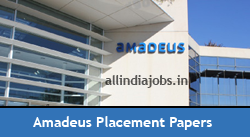 Amadeus Placement Papers