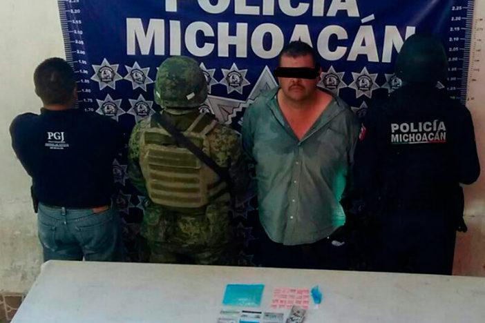 """Fuerzas federales capturan a """"La Mami"""", operador de los H-3 en Michoacán"""