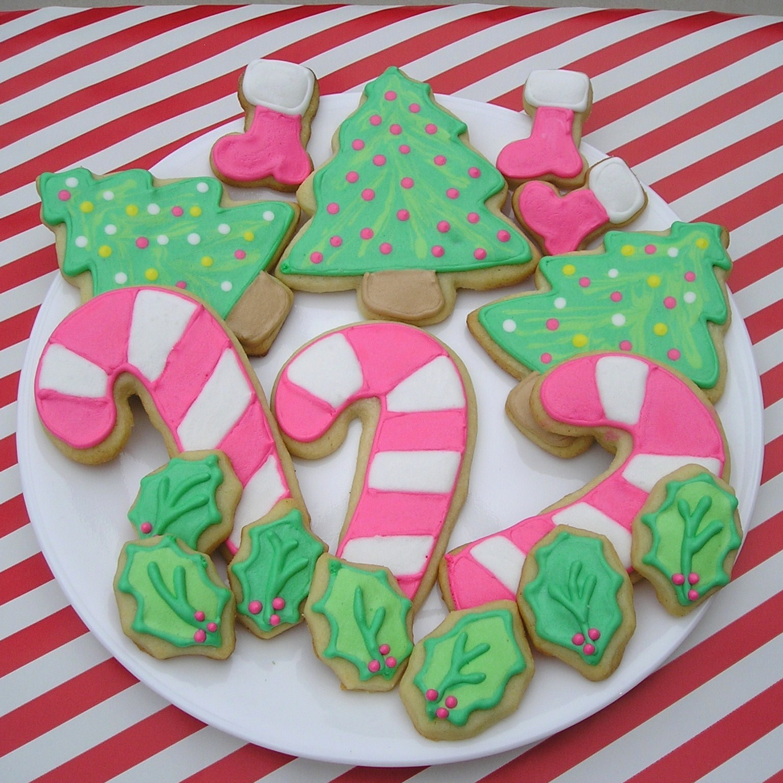 about me - Decorated Christmas Sugar Cookies