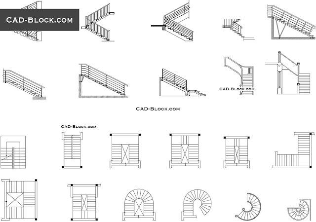 Macam-macam bentuk tangga