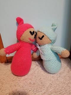 Sleepy Baby Dolls Crochet Pattern