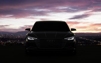 Wallpaper: Audi Prologue concept