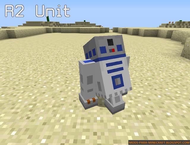 Imagen 3 - Star Wars Droid mod para Minecraft 1.8