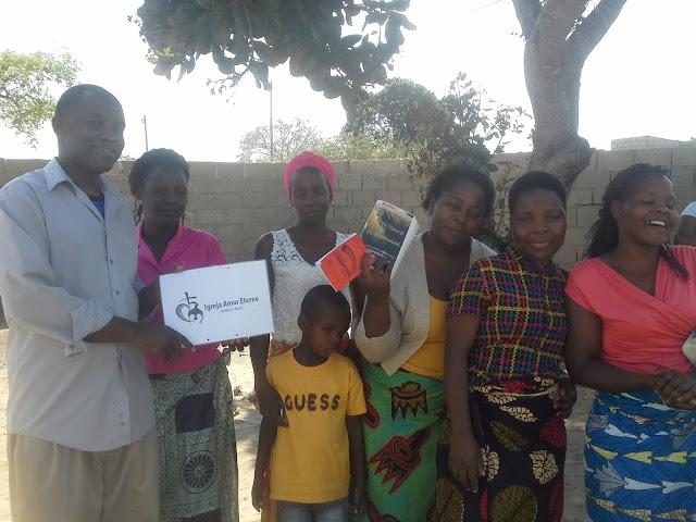A Lideranca da Igreja Amor Eterno em Maputo