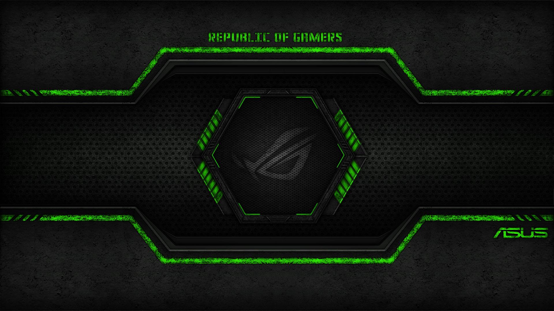 Asus Green Wallpaper: Papel De Parede Grátis Para PC E Celular
