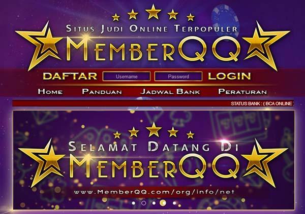 MemberQQ.com | Situs BandarQ | Situs Poker | Situs AduQ | Situs Bandar Poker | Situs Domino99