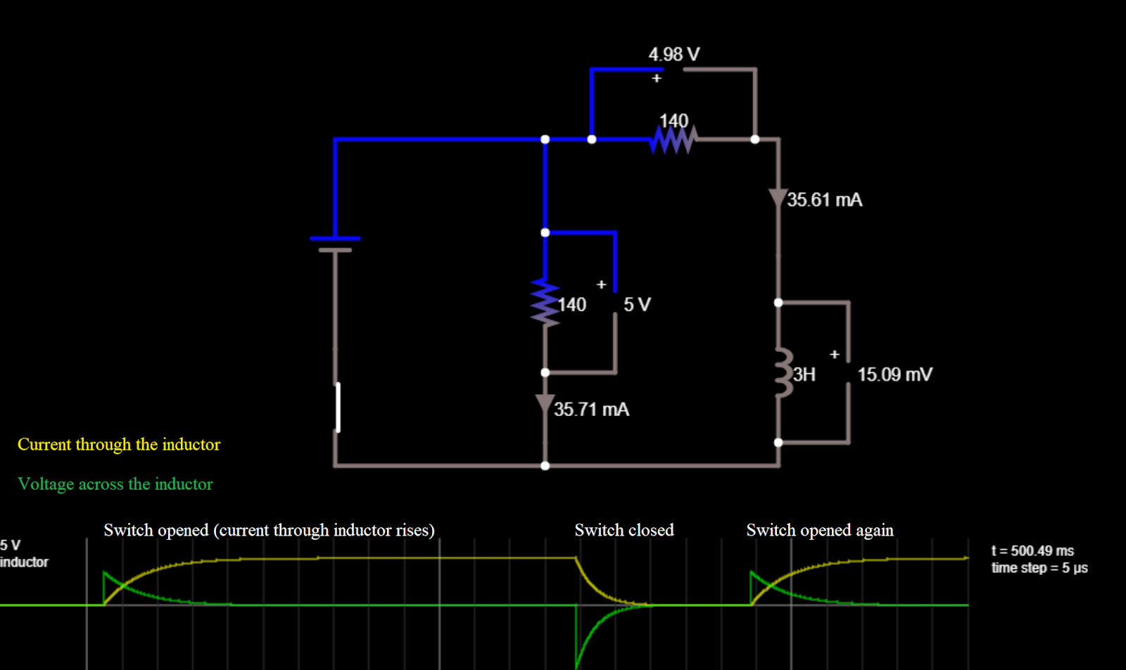 The Blog Of Phyz Rl Falstad Circuit If We Increase Inductance In An What Happens To I Constructed Wanted My Students Explore And Exported A Link That Is Something Plan Do Again Can Construct