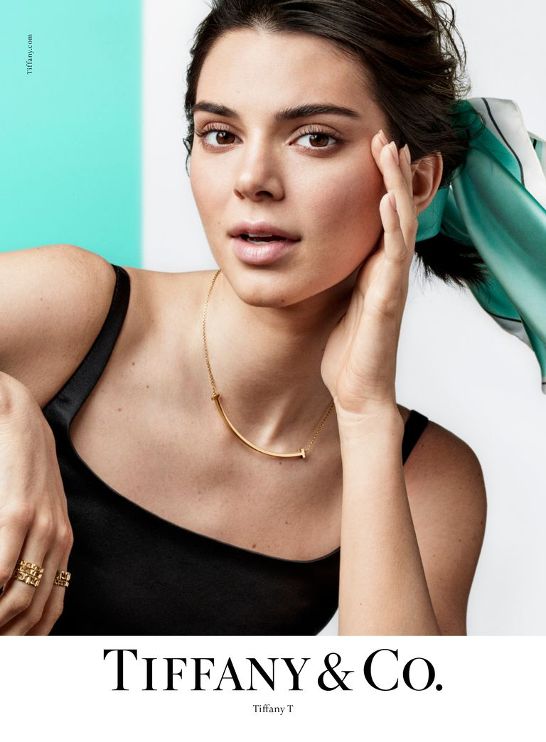 Kendall Jenner Tiffany & Co.'s Spring 2019 Campaign