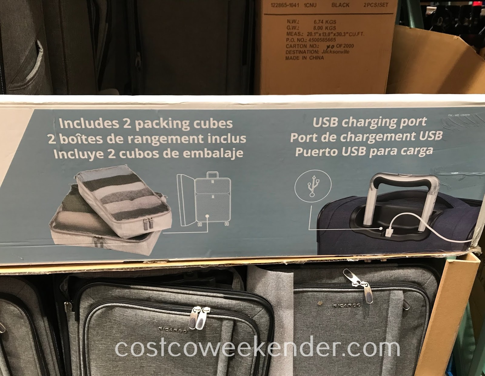 Costco 1297979 - Ricardo Camden Drive Lightweight Carry-On: great for vacations and business trips