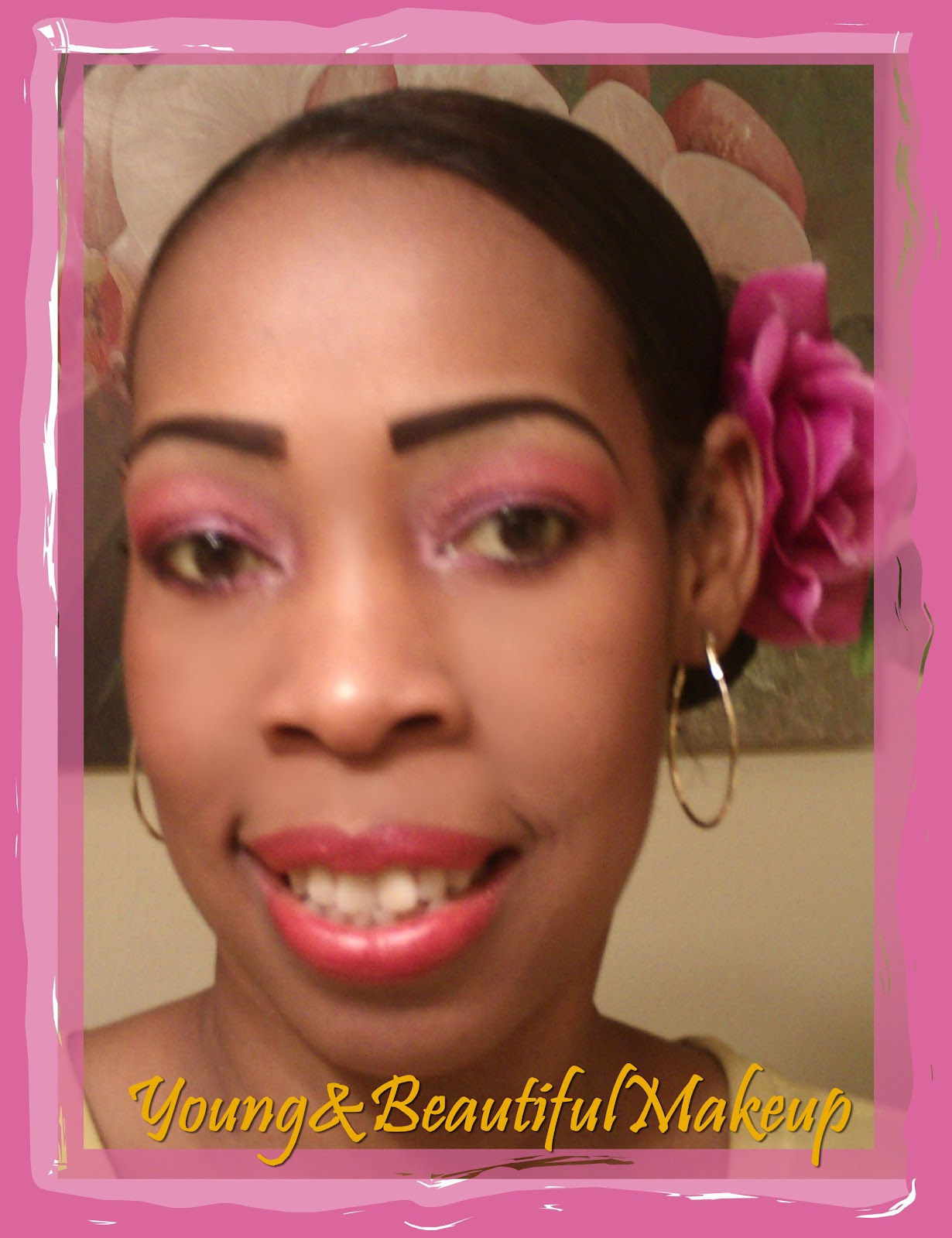 Young And Beautiful Makeup: LOTD: Wedding Day Roses