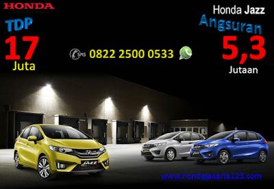 Promo Honda Jazz Jakarta TDP Minim