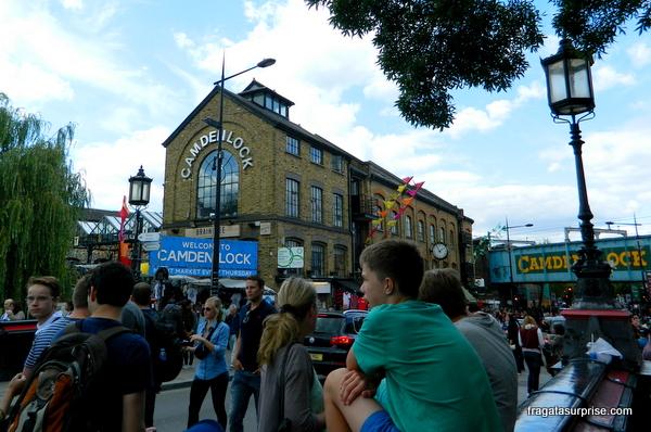Londres - Mercado de Camden Lock
