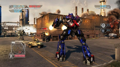 Transformers: Revenge of the Fallen Screenshot 2