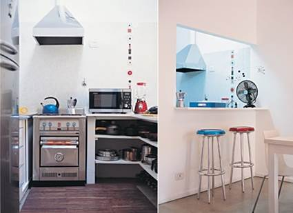 Ideas For Small Apartment Kitchens Layout 5