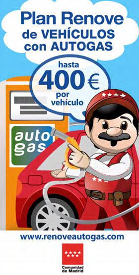 Plan Renove de Vehículos con Autogas y GNC con 400 euros