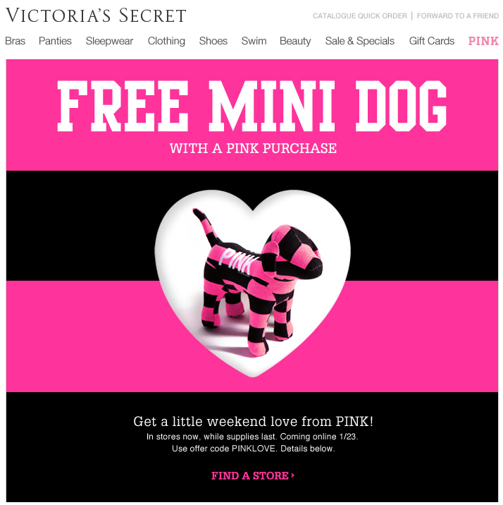 photo regarding Victoria Secrets Printable Coupons identify Purple victoria magic formula promo codes : Great get appliances clearance