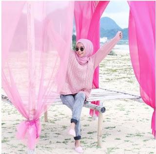 cara foto produk jilbab