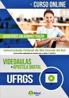 Curso Online Concurso UFRGS 2018