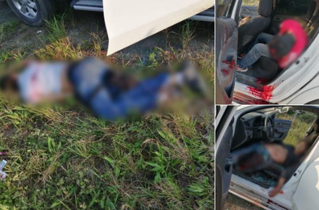 Fotos, Policías abaten a Sicarios del CJNG en Misantla, Veracruz