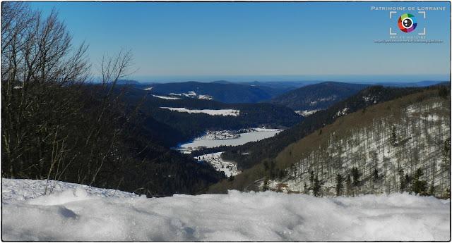 XONRUPT-LONGEMER (88) - Le lac de Longemer gelé !
