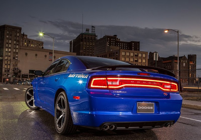 2013 Dodge Charger Daytona Rear
