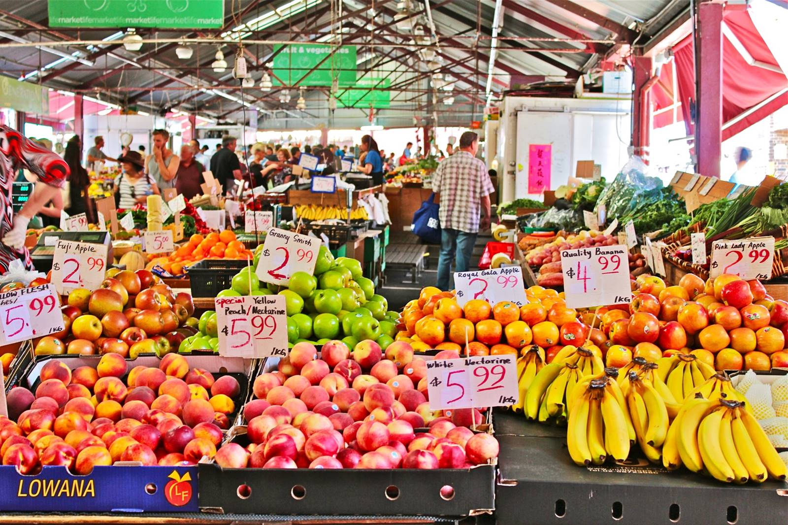 Melbourne-Queen Victoria Market-QVM-CBD-Attraction-Recommendation-Map-Itinerary-Tourism-Independent Travel-Travel Blog-Must visit-Must See