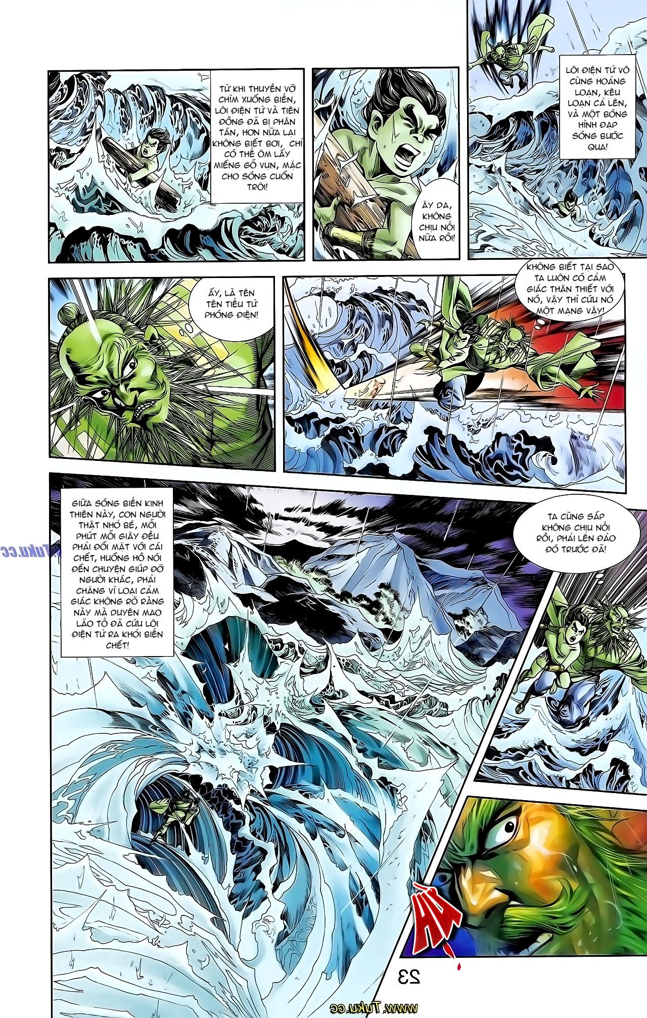 Cơ Phát Khai Chu Bản chapter 129 trang 20