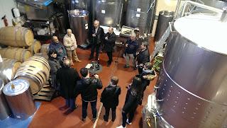 tast de vins Celler Matallonga Fulleda