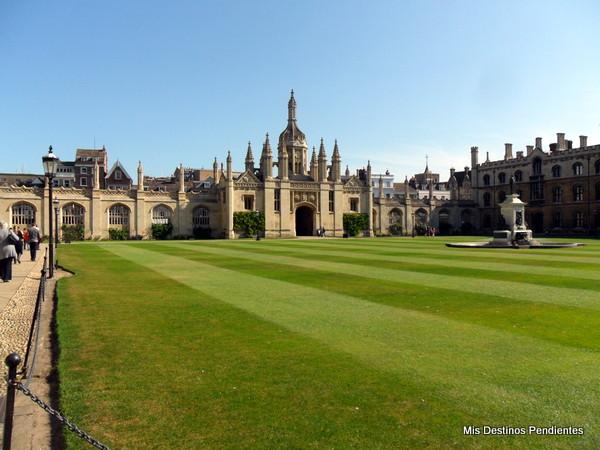Patio Interior del King's College (Cambridge, Inglaterra)