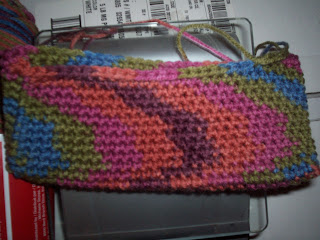 Pencil Case Design with Michaels Craftsmart Variegated Yarn
