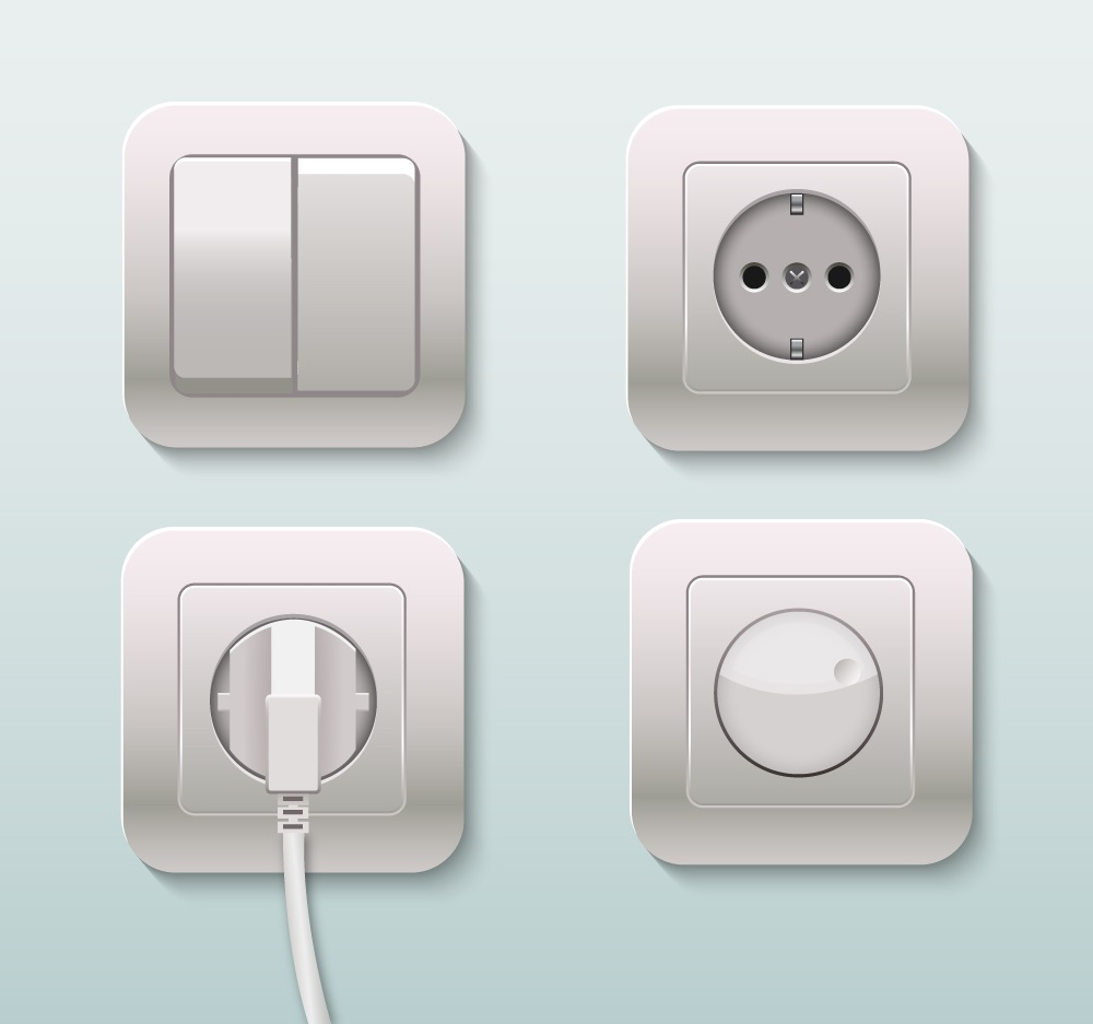 Ultra Modern Light Switches