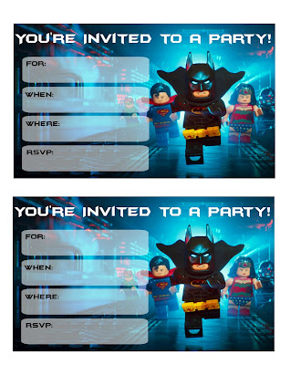 lego batman printables
