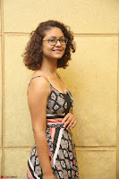 Actress Aditi Myakal Looks gorgeous in Sleeveless Deep Neck Top at Ami Tumi success meet ~  Exclusive 025.JPG