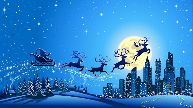 Animated HD Christmas Wallpaper