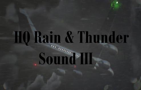 HQ Rain & Thunder Sound III