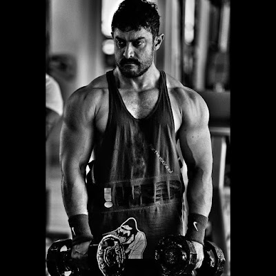 Aamir Khan gets into Shape for Dangal