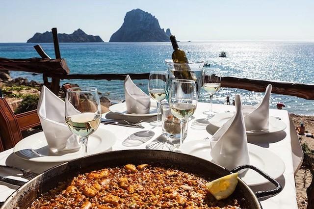 Restaurante em Ibiza