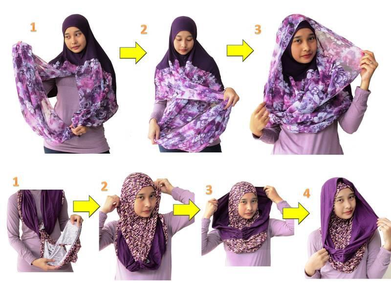 Tutorial Hijab Modern Remaja tutorial memakai hijab modern