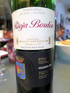 Rioja Bordón Reserva 2011 (88 pts)