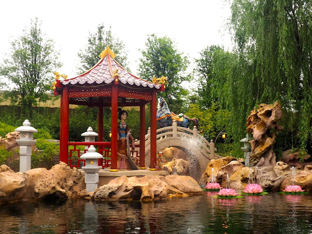Mulan in the Voyage to the Crystal Grotto, Shanghai Disneyland, China