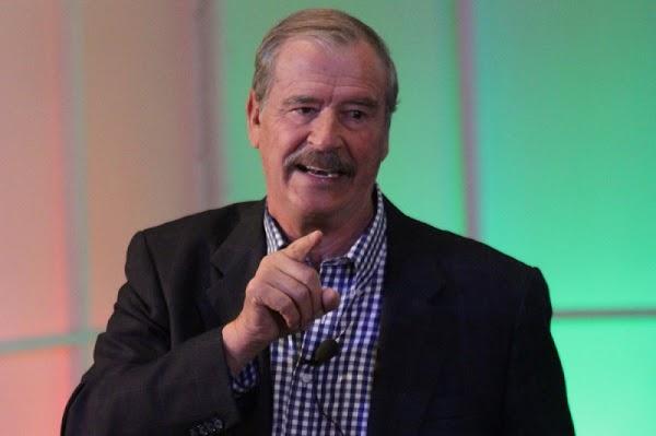 Con la pensión se evita que los presidentes roben, frase celebre de Vicente Fox. (VIDEO)