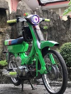 extreem Yamaha V 75  modification