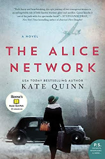 The Alice Network - a heart-rending historical novel by Kate Quinn
