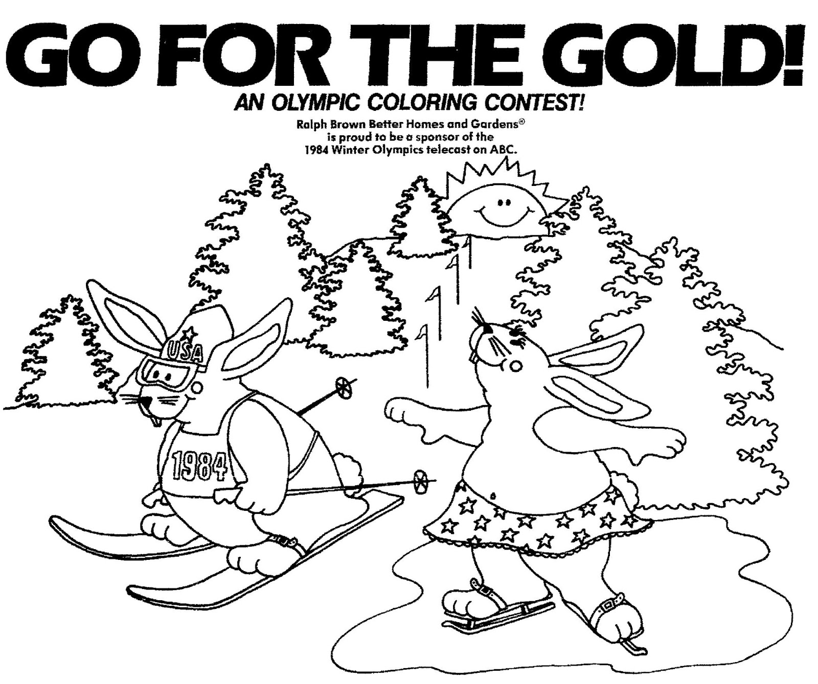 Mostly Paper Dolls Too An Olympic Coloring Contest