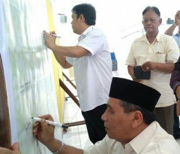 Ketua Forum Kabupaten Sehat Asahan,  Humaidi Pane.