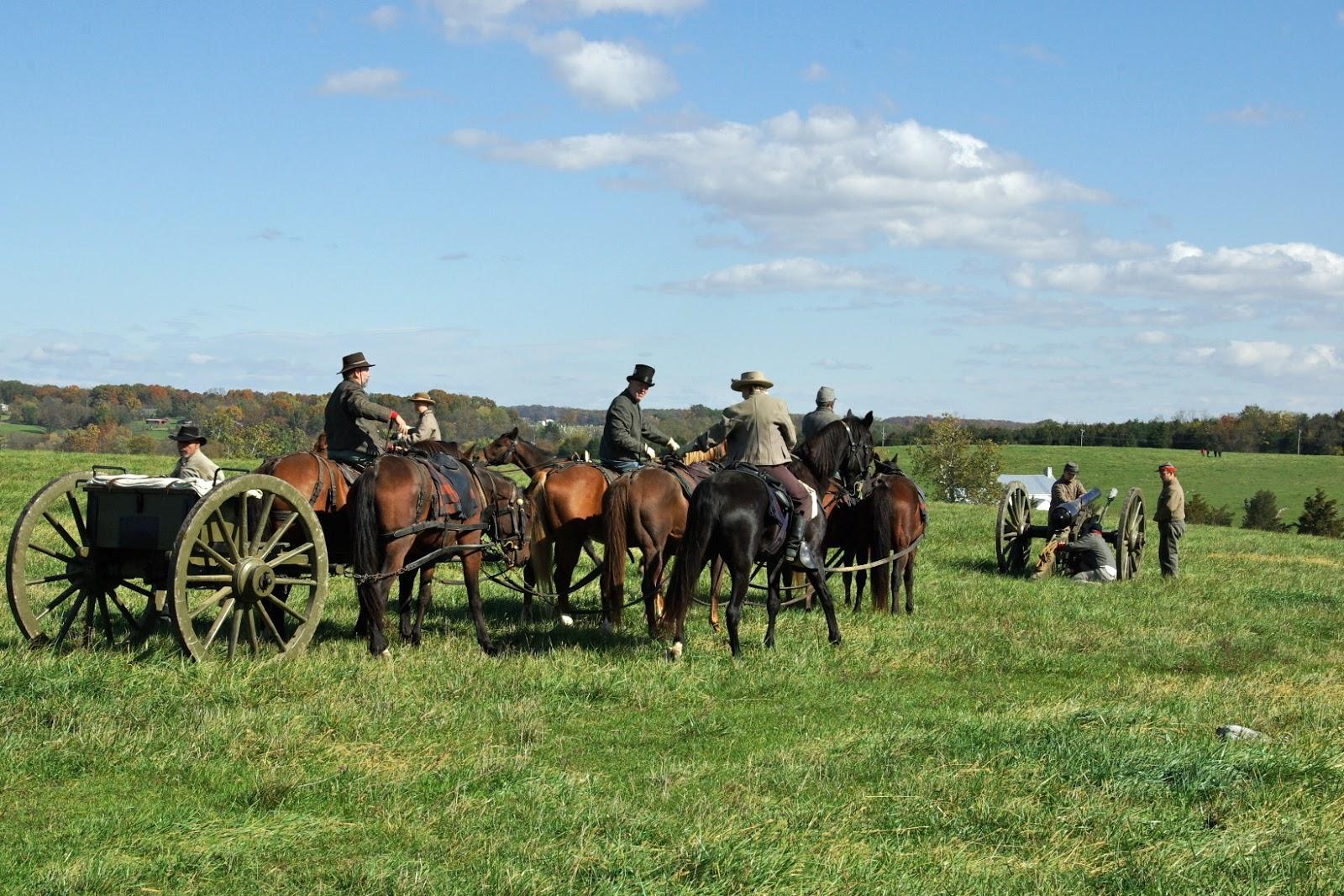 Civil War Cannon Positions